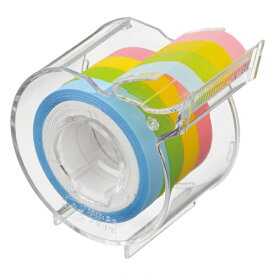 ヤマト メモックロールテープ 半透明フィルム 7mm幅 カッター付 〜 付せん メモテープ
