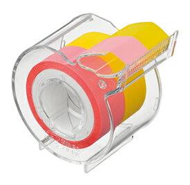 ヤマト メモックロールテープ 半透明フィルム 15mm幅 カッター付 〜 付せん メモテープ