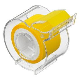 ヤマト メモックロールテープ 半透明フィルム 25mm幅 カッター付 〜 付せん メモテープ ラベル