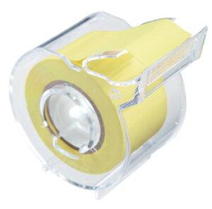ヤマト メモックロールテープ 再生紙 25mm幅 カッター付 〜 付せん メモテープ インデックス ラベル