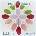 【ドロップ トップホール】12x21mm 4色から選べるトップホールスパンコール 約3g入 ¥100 ビジュー|パーツ|ハンドメ…