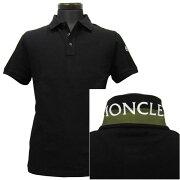【mom23070】モンクレールMONCLERポロシャツ半袖メンズ(25028)