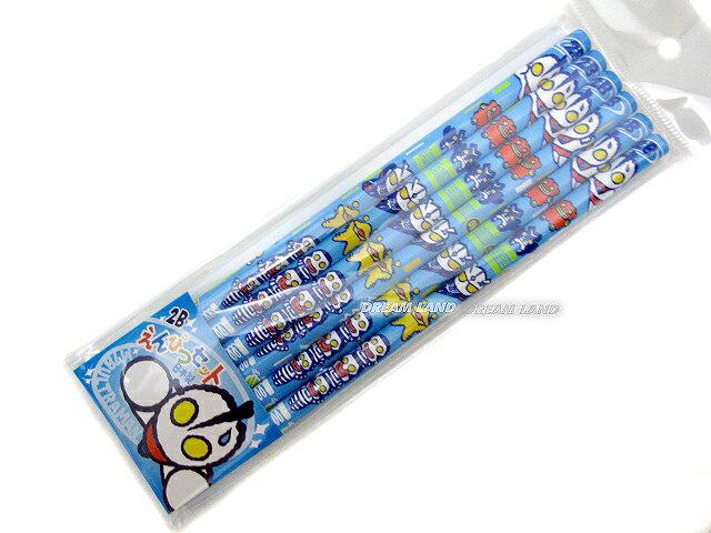 M78ウルトラマン★かきかたえんぴつセット【2B×6本セット】かわいい鉛筆♪