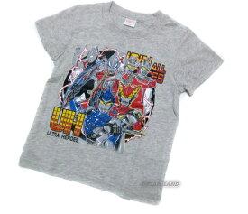 《パケット便選択OK》ウルトラヒーロー★半袖Tシャツ【地球平和:杢グレー】