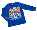 《新製品》ウルトラヒーロー★長袖Tシャツ【綺麗なプリント★7ヒーロー(明るいブルー】