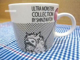 Shinzi Katoh☆陶器マグカップ 【マグ:ピグモン /Y1001F】