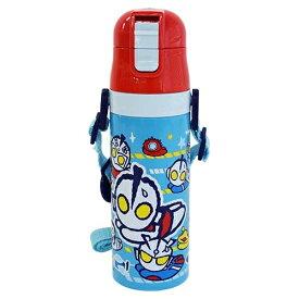 保冷専用☆軽量 ワンプッシュダイレクトステンレスボトル【かわいい水筒♪M78飛び】《ウルトラマンショップ限定》