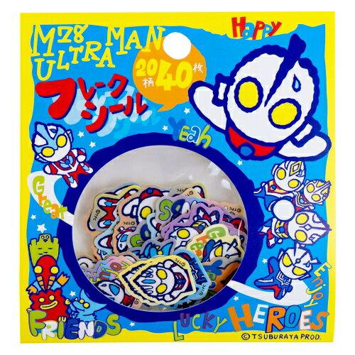 M78ウルトラマン☆仲間がいっぱい!フレークシール【メッセージ】