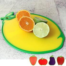 dexas(デキサス)「カッティングボード」まな板 トレイレモンorイチゴorトマトorナスorリンゴリバーシブル すべり止めおしゃれ
