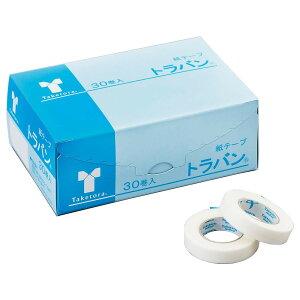 竹虎 トラバン サージカルテープ 9mm×10m 30巻入 060001