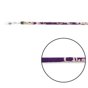 メガネチェーン CS-16 ちりめん紫 050273