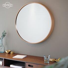 丸い 鏡 壁掛け ウォールミラー アルミフレーム ローズゴールド ゴールド ブラック 飛散防止加工 壁掛け おしゃれ 高精細 玄関 インテリア ピンク 黒 サークル