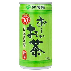 ■他商品同梱不可■伊藤園 お〜いお茶 緑茶 缶 190g 30缶セット
