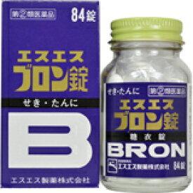 【指定第2類医薬品】エスエス ブロン錠 84錠