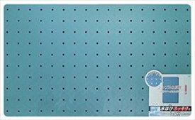 【メーカー直送】オーエ フロウ ラバー風呂すのこ ロング 60×100cm ブルー 防カビ加工 滑りにくい
