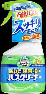 ジョンソン スクラビングバブル 防カビ・除菌プラスバスクリーナー フルーティアップルの香り 本体