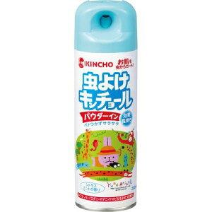虫よけキンチョール パウダーイン シトラスミントの香り 200ml