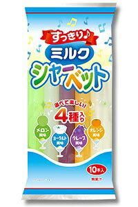 【数量限定】すっきりミルクシャーベット 10本 16個セット チューペット ポッキンアイス チューチュー【他商品同梱不可】