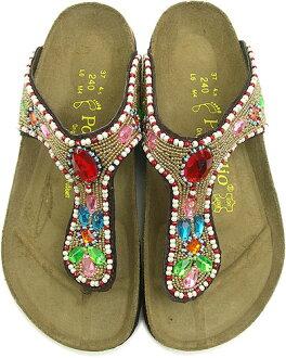 勃肯勃肯女性 Papillio 喀拉拉邦凉鞋 papirio 喀拉拉宝石 (309021)