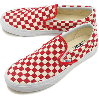 vans red and white. vans vans sneakers classics classic slip-on classical music slip-on (golden coast) red/white checker (vn-0xg8di4 fw14) red and white