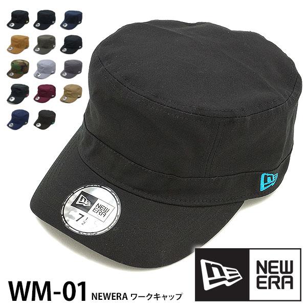 ニューエラキャップ NEWERA CAP ニューエラ ワークキャップ WM-01 メンズ レディース
