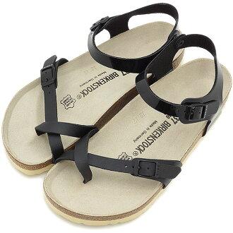 勃肯勃肯女装男装黑色陶尔米纳凉鞋陶尔米纳 BF 黑/专利 (310411 SS15)