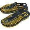 基恩KEEN人涼鞋水鞋UNEEK 8MM MNS獨特的八毫米測量儀器人Midnight Navy/Spectra Yellow 1013241 FW15