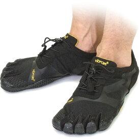 Vibram FiveFingers ビブラムファイブフィンガーズ メンズ KSO EVO Black ビブラム ファイブフィンガーズ 5本指シューズ ベアフット靴 [14M0701]