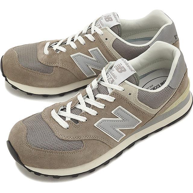 【20%OFF】【在庫限り】newbalance ニューバランス メンズ レディース スニーカー 靴 ML574 Dワイズ GRAY (ML574VG)【ts】【e】【コンビニ受取対応商品】