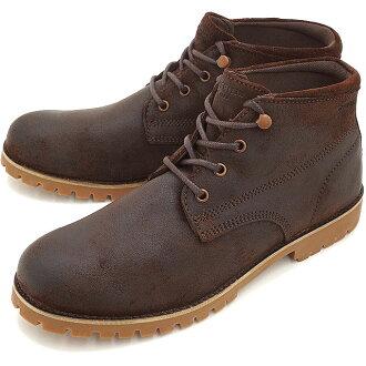 金刚狼靴、 金刚狼狼獾 CORT 外套防水皮革身边布朗 (W40009 FW15)