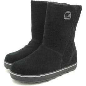 【10/31限定!楽天カードで4倍】SOREL ソレル スノーブーツ レディース GLACY グレイシー BLACK 靴 [NL1975-011 FW15)