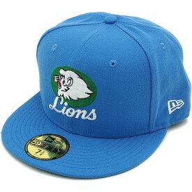 NEWERA ニューエラ キャップ NPB CLASSIC 59FIFTY 日本プロ野球 クラシック フィフティーナインフィフティー 西武ライオンズ エアフォースブルー/チームカラー CAP[11121862][NEW ERA キャップ]