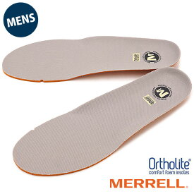 MERRELL メレル メンズ インソール 中敷き ORTHOLITE FOOTBET オーソライト インソール GRAY 靴 [J1JOFM6MG]【メール便可】