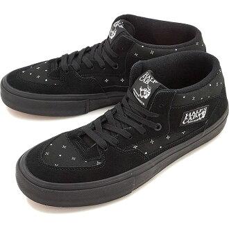 banzuhafukyabupuro VANS人分歧D運動鞋鞋HALF CAB PRO(BANDANA)BLACKOUT(VN000VFDK1I FW16)