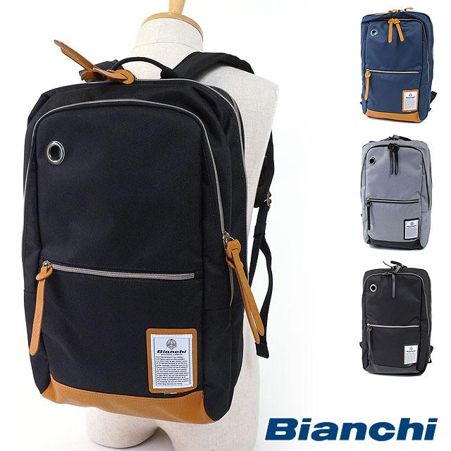 【即納】Bianchi ビアンキ メンズバッグ DUALTEX スクエアバックパック リュック デイパック (NBTC-47 FW16)【コンビニ受取対応商品】