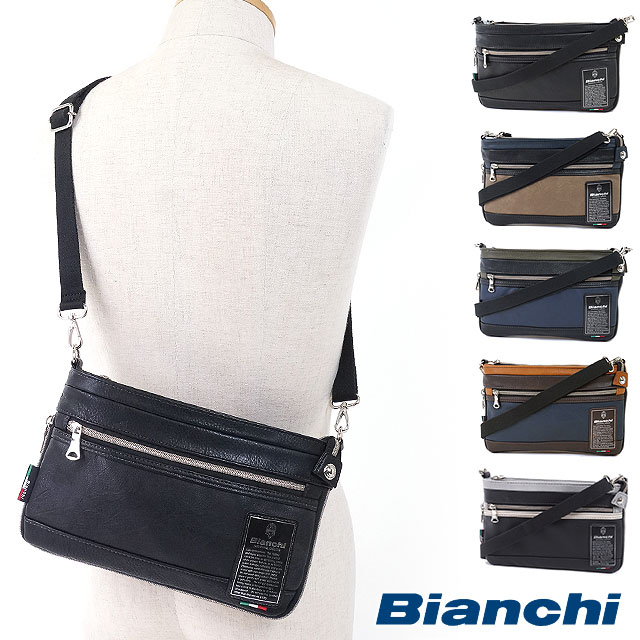 Bianchi ビアンキ メンズバッグ ミニショルダーバッグ [TBPI-10 FW16]