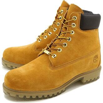 天伯伦 6 英寸溢价靴子 TPU 林地男子 6 英寸溢价靴子 TPU 小麦麂皮绒 (A1H6M FW16)