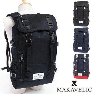 McCabe Rick MAKAVELIC Backpack Rucksack daypack DOUBLE BELT ZONE MIX (3106-10118 FW16)