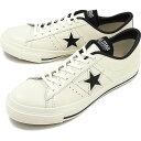 【1/28まで!楽天カードで最大22倍】【返品サイズ交換可】CONVERSE コンバース ONE STAR J ワンスター J ホワイト/ブラック 靴 [323465…
