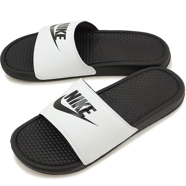 【20%OFF】【在庫限り】NIKE ナイキ シャワーサンダル 靴 BENASSI JDI ベナッシ JDI ホワイト/ブラック/ブラック (343880-100 SS17)【e】【ts】【コンビニ受取対応商品】