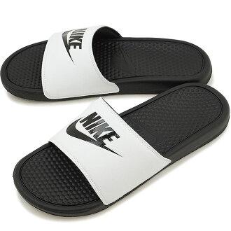 NIKE Nike shower sandal BENASSI JDI ベナッシ JDI white / black / black (343,880-100 SS17)