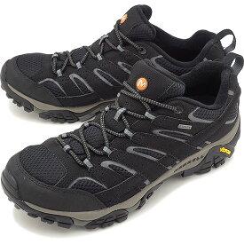 【楽天カードで8倍】MERRELL メレル メンズ MENS MOAB 2 GORE-TEX モアブ2 ゴアテックス BLACK 靴 [06037 FW17]【e】