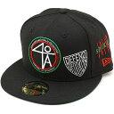 【即納】NEWERA ニューエラ キャップ New Era 59FIFTY 40Acres 40エーカー ベースボールキャップ 帽子 ブラック/Rレッ…
