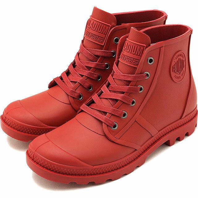 【40%OFF】【在庫限り】PALLADIUM パラディウム スニーカー 靴 メンズ・レディース PAMPA HI RAIN パンパ ハイ レイン RIO RED (75556-692 FW17)【e】【ts】【コンビニ受取対応商品】
