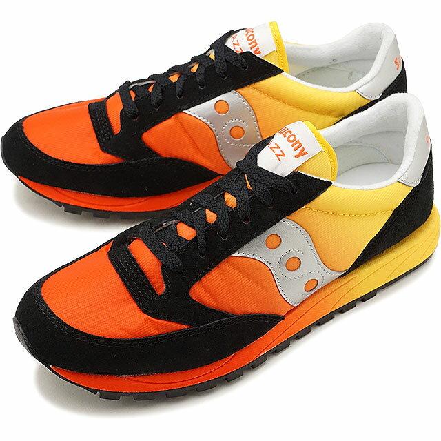 【即納】Saucony サッカニー スニーカー 靴 メンズ JAZZ FADE ジャズ フェード RED/ORG (S70248-1 FW17)【コンビニ受取対応商品】
