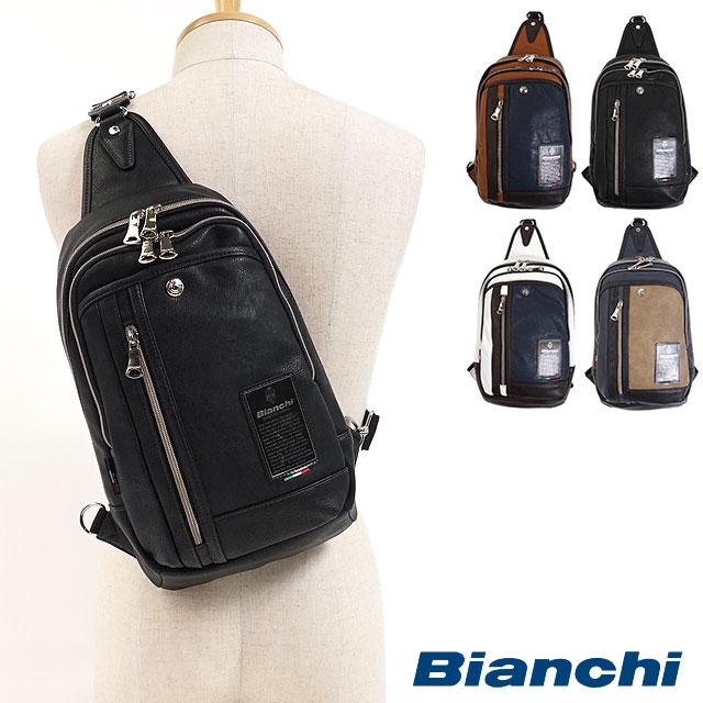 【即納】Bianchi ビアンキ ボディーバッグ ワンショルダー メンズ・レディース (TBPI-12 FW17)【コンビニ受取対応商品】