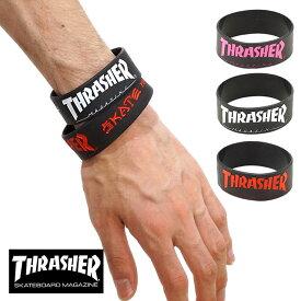 【即納】THRASHER スラッシャー ラバーバンド リストバンド [THRRW100 FW17]【メール便可】