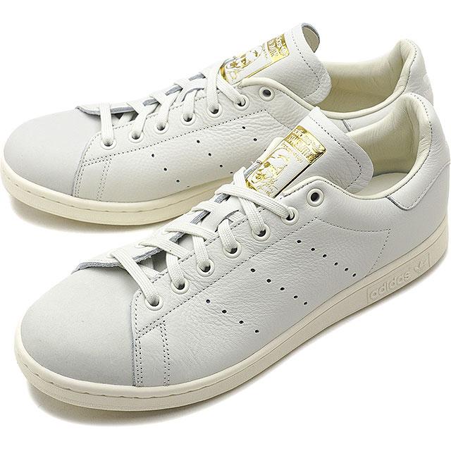 【即納】adidas Originals アディダス オリジナルス Stan Smith Premium スタンスミス プレミアム メンズ スニーカー 靴 ホワイトT S18/ホワイトT S18/ゴールドメット (B37900 FW18)【コンビニ受取対応商品】
