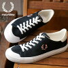 FRED PERRY Fred Perry Bulova Luke canvas BREAUX VULCA CANVAS sneakers shoes men Lady's NAVY (F29633-01 FW18)