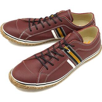 スピングルムーブ SPINGLE MOVE SPM-168 mousse leather sneakers men gap Dis shoes shoes Burgundy (SPM168-148 FW18)